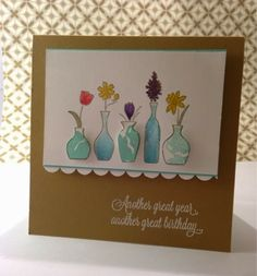 Stampin'Up Vivid Vases,