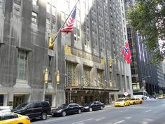 The Waldorf-Astoria Hotel is a luxury hotel in New York City, New York. The present building is an Art Deco Landmark, dating from 1931. It replaces the first Waldorf-Astoria which was demolished for the erection of the Empire State Building.