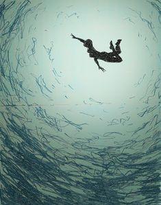 MI LABORATORIO DE IDEAS: underwater swimmer