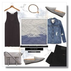 """""""atmosphere."""" by vigilexi ❤ liked on Polyvore featuring Nudie Jeans Co., Current/Elliott, T By Alexander Wang, PERIGOT, Sole Society, Astley Clarke, women's clothing, women, female and woman"""
