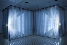 Nonotak Studio imagined for the Festival Insanitus 2013 Kaunas, Lithuania, the audiovisual installation Daydream which seeks to establish a physical connect Cubes, Kaunas Lithuania, Light Tunnel, Instalation Art, Artistic Installation, Art Base, Stage Design, Set Design, Light Painting