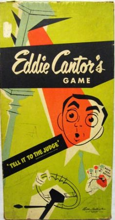 Vintage Board Games - Eddie Cantor's Game