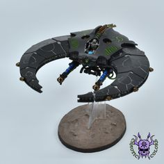 Necrons - Night Scythe #ChaoticColors #commissionpainting #paintingcommission #painting #miniatures #paintingminiatures #wargaming #Miniaturepainting #Tabletopgames #Wargaming #Scalemodel #Miniatures #art #creative #photooftheday #hobby #paintingwarhammer #Warhammerpainting #warhammer #wh #gamesworkshop #gw #Warhammer40k #Warhammer40000 #Wh40k #40K #heldrake #chaos #warhammerchaos #warhammer40k #zenos #Necrons #Nightscythe Warhammer 40000, Tabletop Games, Gw, Scale Models, Miniatures, Studio, Night, Creative, Painting