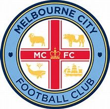 Melbourne City, Australia.  Note the similarities with parent club, Manchester City? A sky blue circle, cross of St George, MCFC
