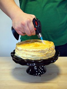 A Baked Creation: Mille Crêpes Cake Crepe Cake, Mille Crepe, Eat Dessert First, Waffles, Pancakes, Let Them Eat Cake, Cornbread, Cupcake Cakes, Pudding