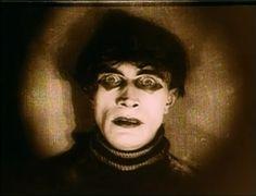 "Screencap of Conrad Veidt as Cesare from ""Cabinet of Dr. Dr Caligari, Black And White Makeup, Conrad Veidt, Film Reels, Olivia De Havilland, Up Costumes, Costume Shop, Irish Men"