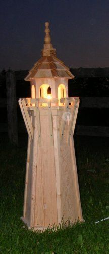 Lighthouse Pattern - Completely Original, Free Woodworking Plans