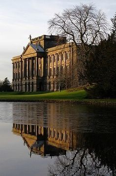 Beautiful house. I know they used it as Pemberly in the BBC pride and prejudice, but I forget what it's actually called