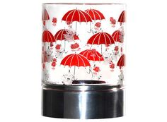 Moomin candleholders are multifunctional design pieces that can bring joy to any home. This one has Little My hanging on to her red umbrellas on it. Moomin Shop, Red Umbrella, Little My, Tea Light Holder, Tea Lights, Home Goods, Candle Holders, Just For You, Joy