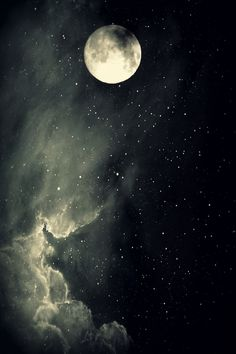 Sun moon, stars and moon, dark moon, moon and stars wallpaper, ciel Stars And Moon, Stars Night, Moon Pictures, Pretty Pictures, Beautiful Moon, Beautiful World, Ciel Nocturne, Moon Magic, Belle Photo