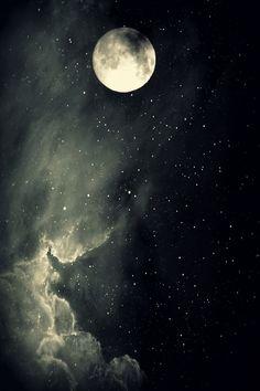 moon sky luna lunera cascabelera......
