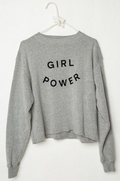Brandy ♥ Melville | Acacia GIRL POWER Sweatshirt - Graphics