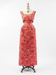 House of Balenciaga (French, founded 1937). Evening dress, 1959–60. The Metropolitan Museum of Art, New York. Gift of Rosamond Bernier, 1989 (1989.130.2a, b)