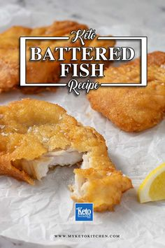 """The BEST Keto Battered Fish - Perfect """"Low Carb"""" Crispy Fried Seafood. This crunchy fried fish recipe is easy to make. The gluten free batter makes a delicious crispy coating and is perfect served with Tartar Sauce. How can I drop 20 pounds fast? Keto Foods, Keto Snacks, Diabetic Snacks, Keto Meal, Ketogenic Recipes, Paleo Diet, Ketogenic Diet, Low Carb Keto, Low Carb Recipes"""