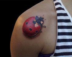 #tattoo #ladybug
