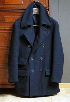 Close to perfect peacoat ~ Old Man Fancy.