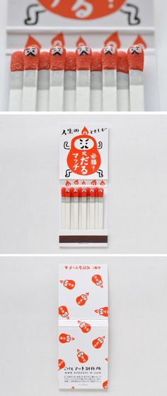 Empaque cerillos #packaging #diseño #creatividad