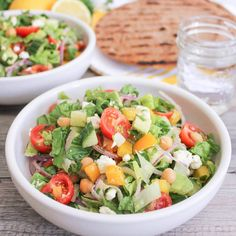 Check this out: Chopped Greek Salad with Chickpeas and Avocado. https://re.dwnld.me/tmp-chopped-greek-salad-with-chickpeas-and-avocado