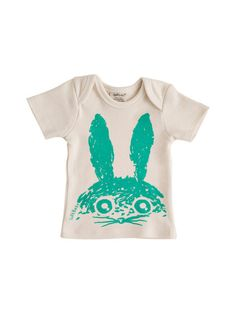 Organic Cotton Rabbit Tee by SoftBaby at Gilt