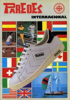 Vintage Ads, Vintage Looks, Nostalgia, Vintage Sneakers, Retro Images, Brown Sneakers, Adidas Stan Smith, Old School, Adidas Sneakers