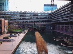 #NYU #London | The Barbican, the largest public housing complex in central London