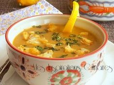 Chorba fish with fennel chowder*** use any fish like basa fillets! Gourmet Recipes, Soup Recipes, Vegetarian Recipes, Cooking Recipes, Healthy Recipes, Turkish Recipes, Greek Recipes, Basa Recipe, Tunisian Food
