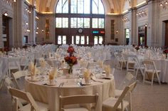 Baker Street Train Station is a great place for wedding receptions!