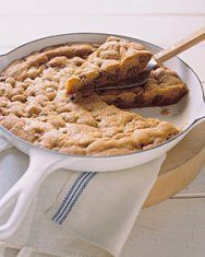 One BIG chocolate chip cookie And very easy to make