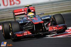 Lewis Hamilton, McLaren, Formule 1 Grand Prix van Hongarije 2012