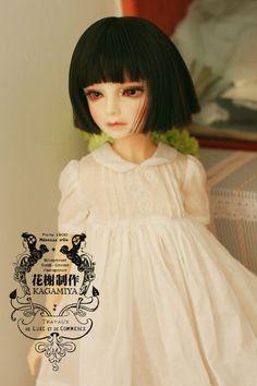 NEW White Handsome Big bat sleeve Shirts 1//3 SD16 Girl BJD DOLL Clothes