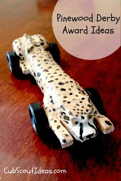 Over 100 Pinewood Derby award ideas! You'll be able to give everyone in your pack a different award for their Pinewood Derby car by using these! Cub Scouts Wolf, Tiger Scouts, Girl Scouts, Awana Grand Prix Car Ideas, Cub Scout Activities, Arrow Of Lights, Pinewood Derby Cars, Indoor Activities For Kids, Fun Activities