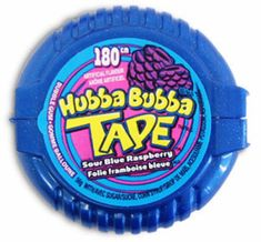 """90's Movies prom theme   HUBBA BUBBA TAPE!Made every kid feel that much """"cooler"""""""