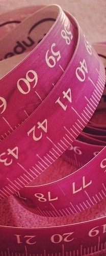 Pink Measuring Tape  #pink #color #colours