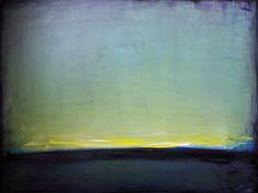 30x40 Sunset Original Modern Abstract Painting