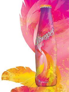 """#bouteille de Schweppes """"Créateur Éclairé"""" Packaging - Viacomit"""