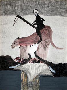 amare-habeo:    Annette Barcelo (Swiss, born 1943)   Certain things should get used (An gewisse Dinge solte man sich gewohnen), 2010 -2011 Galerie Anne de Villepoix, Paris, France