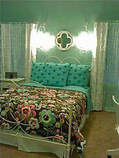 Debra Paessler Designs.......beauty heals.  Pretty room for a pretty girl!