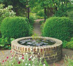 Garden water feature ideas