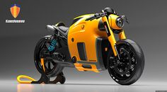 koenigsegg bike on Behance