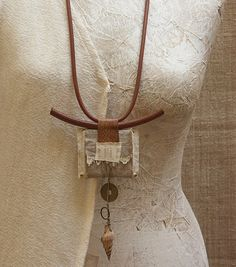 amalthee-creations: - recycled necklace - N° 3199
