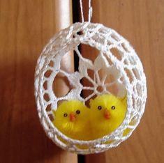 Użyj STRZAŁEK na KLAWIATURZE do przełączania zdjeć Crochet Cactus, Crochet Motif, Crochet Designs, Crochet Flowers, Easter Crochet Patterns, Doily Patterns, Easter Crafts, Holiday Crafts, Small Crochet Gifts