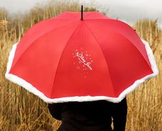 Christmas umbrella featuring Irish 'Nollaig Shona' in hand-drawn calligraphy. A lovely addition to the festive season, designed & handprinted in Ireland. Irish Christmas Gifts, Christmas Themes, Unique Birthday Gifts, Birthday Love, Grandpa Gifts, Fathers Day Cards, Gifts For Mum, Beautiful Gifts, Engagement Gifts