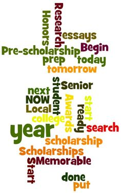 New College Scholarship Mom Tip:  Start NOW!  #College Scholarships
