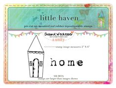 little haven.  BRAND NEW by artist Susan Weckesser - Scrapbooking - Canvas Art - Mixed Media - SMASH books - EVERYTHING - enormous unique stamps at unity stamp company - available NOW!  http://www.unitystampco.com/shop/192-35-off-susan-weckesser.aspx