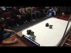 Robots Playing Hockey at Penn Autonomous Robots, James Bond, School Of Engineering, Applied Science, Hockey, Student, Tecnologia, Field Hockey