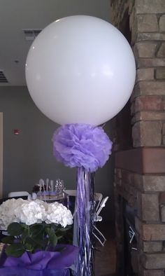 Balloon party fun Pretty! I love how versatile balloons can be.