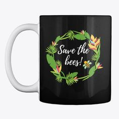 Our cause is to protect and save the bees! All the profit goes to HoneyBee's Home for to take care of the bees from Transylvania! Save The Bees, Mugs, Tableware, Dinnerware, Tumbler, Dishes, Mug, Place Settings