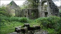 The ruins of a pilgrimage chapel show that once St Mary's well in the Elwy Valley was seen as an important place of worship.
