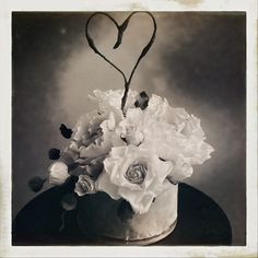 Wedding Cake Bouquet - Vintage Sugar Blooms