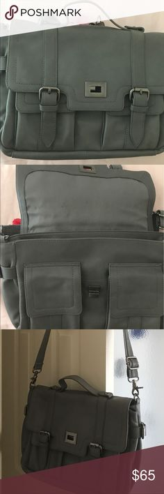 "🆕Genuine Leather Crossbody/Messenger Bag NWOT 🆕Audrey Brooke Genuine Leather Crossbody Messenger Bag. Measurement:14"" W x 10""L  Handle Drop 24"" L Audrey Brooke Bags Crossbody Bags"